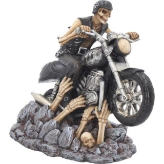 GOTHIC COLLECTION - Ride out of Hell 16cm - motorkár