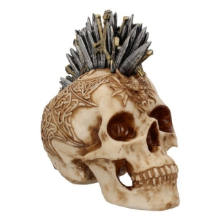 GOTHIC COLLECTION - Sword Hawk Skull - lebka