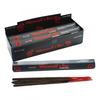 GOTHIC COLLECTION - Stamford Hex Incense Sticks Werewolf Bites - vonné tyčinky