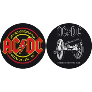 AC/DC - For Those About To Rock/High Voltage - slipmat sada