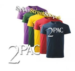 2 PAC - Logo - farebné pánske tričko 548004bed6