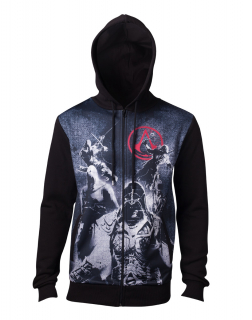 ASSASSINS CREED - Live By The Creed Core Men's Hoodie - čierna pánska mikina