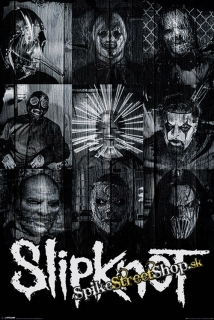 SLIPKNOT - Masks - plagát