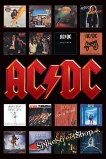 AC/DC - Album Covers - plagát