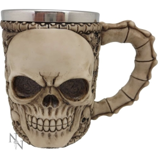 GOTHIC COLLECTION - Tankard of Skulls Large 17.2cm - krígel