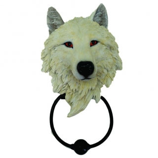 GOTHIC COLLECTION - Light Guardian Wolf 22.8cm - klopadlo na dvere