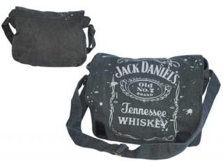 JACK DANIELS - Black Messengerbag - taška cez plece
