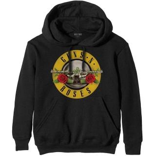 GUNS N ROSES - Classic Logo - čierna pánska mikina c69cb50a55b
