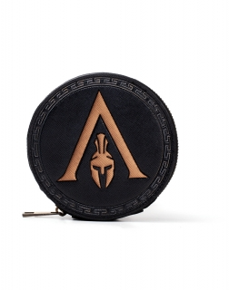 ASSASSINS CREED ODYSSEY - Greek Helmet Logo Premium Coin - dievčenská peňaženka