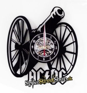 AC/DC - For Those About To Rock - vinylové nástenné hodiny