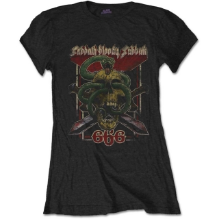 b90210aed2 BLACK SABBATH - Bloody Sabbath 666 - čierne dámske tričko