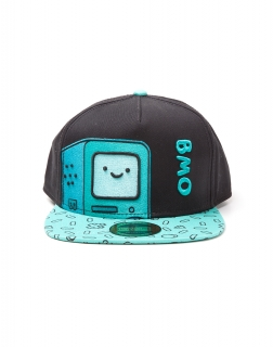 ADVENTURE TIME - BMO Snapback with Printed Bill - šiltovka