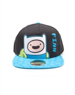 ADVENTURE TIME - Finn Snapback with Printed Bill - šiltovka
