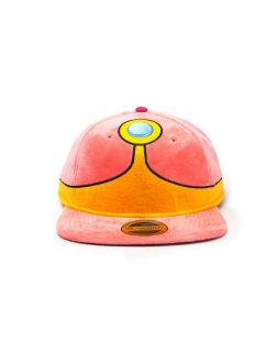 ADVENTURE TIME - Princess Bubblegum Plush Snapback - šiltovka