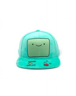 ADVENTURE TIME - Beemo Plush Snapback - šiltovka