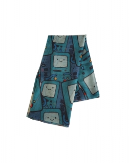 ADVENTURE TIME - Beemo All Over Fashion Scarf - šatka