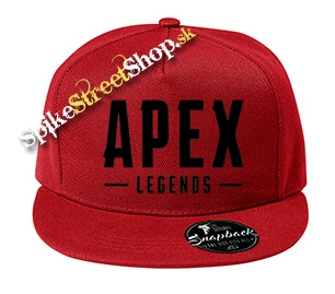 "APEX LEGENDS - Black Logo - červená šiltovka model ""Snapback"""