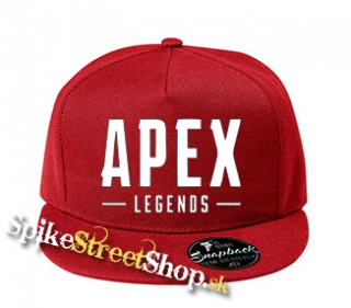 "APEX LEGENDS - White Logo - červená šiltovka model ""Snapback"""