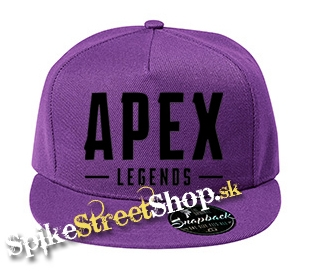 "APEX LEGENDS - Black Logo - fialová šiltovka model ""Snapback"""
