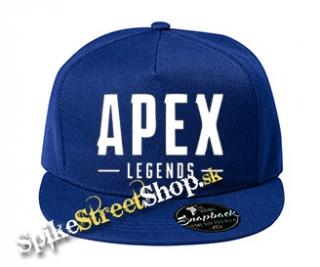 d0f3516cd APEX LEGENDS - White Logo - kráľovská-modrá šiltovka model
