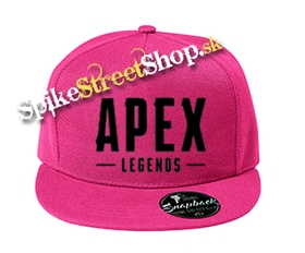 "APEX LEGENDS - Black Logo - ružová šiltovka model ""Snapback"""