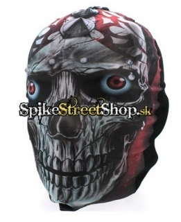 FANTASY COLLECTION - Gothic Skull With Piercings - maska