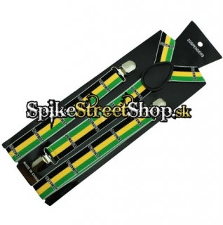 TRAKY JAMAICA FLAG COLOUR