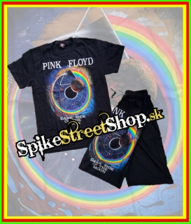 Kraťasy + tričko PINK FLOYD - Dark Side Of The Moon - Summer Hard Set