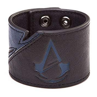 ASSASSINS CREED UNITY - Wristband With Logo - kožený náramok