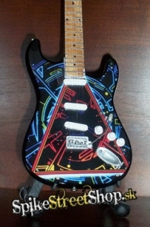 Gitara DEF LEPPARD - TRIBUTE - Mini Guitar USA