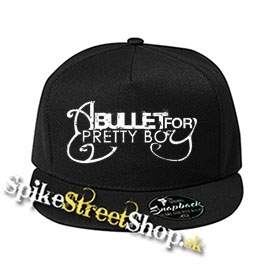 "A BULLET FOR PRETTY BOY - čierna šiltovka model ""Snapback"""