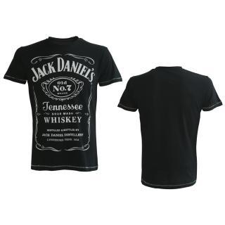 49f58c0b60e JACK DANIELS - Black Classic Logo - čierne pánske tričko