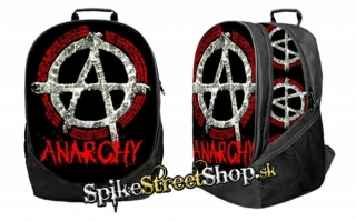 ANARCHY - Punks Not Dead - ruksak 3D Big Fullprint