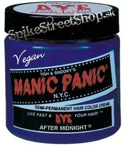 Farba na vlasy MANIC PANIC - After Midnight Blue