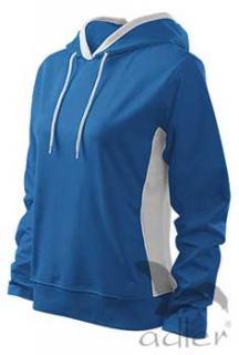 HOODED SWEATER - modrá dámska mikina (-40% VÝPREDAJ) 10b427827b0
