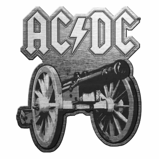 AC/DC - For Those About To Rock - kovový odznak