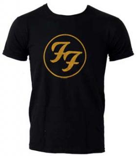 FOO FIGHTERS - Gold Logo - pánske tričko