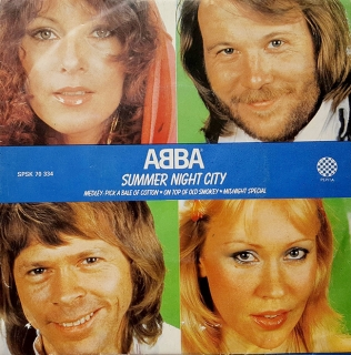 "ABBA - Summer Night City (vinyl 7"" SP)"