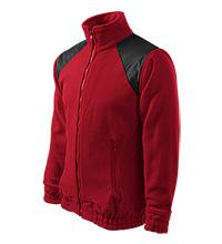 Bunda FLEECE JACKET Hi-Q 360 - Červená