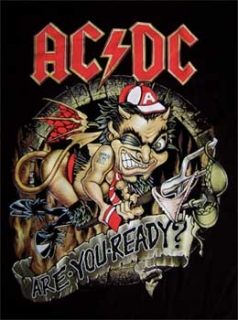 AC/DC - Are You Ready? - chrbtová nášivka