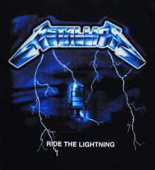 METALLICA - Ride The Lightning - chrbtová nášivka