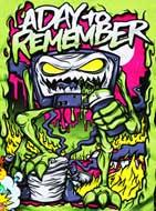 Samolepka A DAY TO REMEMBER - Attack Of The Killer