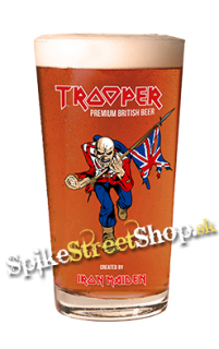Pohár IRON MAIDEN - Trooper Premium British Beer Limited